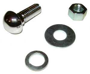 1980 Bumper bolt and nut, high dome