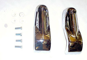 1963 Bumper guards, front