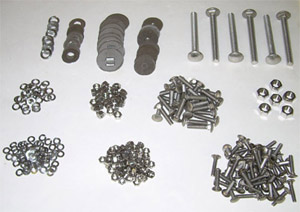 1987 Bed bolt kit, long bed