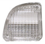 1970 Backup light lens, left
