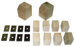 1946 Bed mounting blocks and pads only, long bed