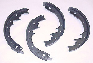 1951 Brake shoes, rear only