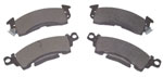 1984 Brake disc pads, front