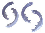 1953 Brake shoes, front or rear