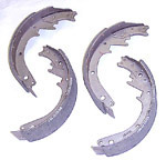 1966 Brake shoes, front or rear