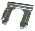 1977 Brake hose retainer clip, metal