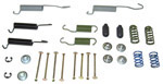 1969 Brake hold down kit and return springs, rear