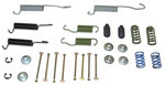 1969 Brake hold down kit and return springs, front