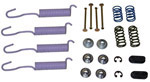 1962 Brake hold down kit and return springs, front or rear