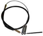1960 Brake cable - front, drum