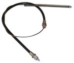 1977 Brake cable - front, disc