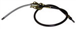 1970 Brake cable - rear, drum