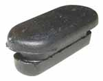 1956 Brake adjustment rubber hole plug, fits in backing plate