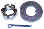 1956 Spindle nut, washer and pin (1 of each)