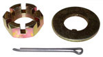 1968 Spindle nut, washer and pin (1 of each)