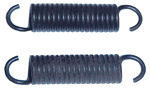 1963 Brake screw adjusting springs, front or rear axle