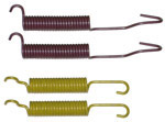 1972 Brake return springs only, rear