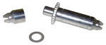 1987 Brake adjusting screw assembly, front or rear