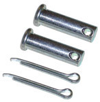 1947 Clevis pin for emergency brake, use with brake lever pull rod clevis