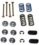 1956 Brake hold down kit, front or rear