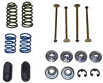 1975 Brake hold down kit, rear