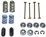 1969 Brake hold down kit, front