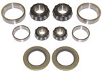 1952 Roller bearing conversion kit, from original ball bearings to modern tapered bearings