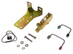 1966 Brake proportioning valve kit, front and rear disc brakes