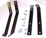 1961 Bumper brackets, rear