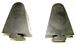 1963 Axle bumper stops, rear
