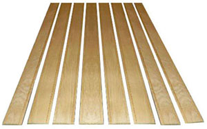 1960 Bed wood, 8 boards