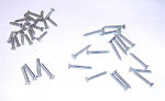 1953 Window frame screws, interior