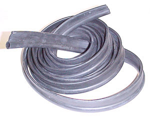 1943 Cab to running board seals, black rubber