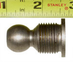 1972 Clutch fork pivot ball, inline 6 and V8 engines