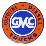 1971 Advertising sales and service decal, GMC