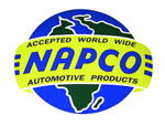 1970 Advertising sales and service decal, NAPCO (4x4)