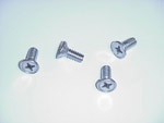 1949 Door latch screws, set of 4