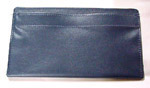 1985 Door panel bag, dark blue