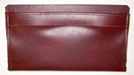 1987 Door panel bag, dark maple (dark reddish-brown)