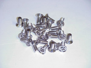 1956 Door panel fastening screws, enough for both door panels
