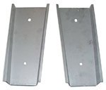 1963 Dust shields, rear bumper