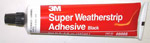 1984 Door weather seal adhesive, 3M black glue