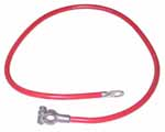 1937 Battery cable, modern