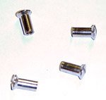 1953 Parklight lens screws, stainless