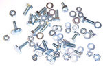 1965 Running board bolt kit, 1/2 or 3/4 ton