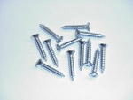 1964 Sill trim plate screws, chrome