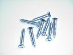 1972 Sill trim plate screws, stainless steel