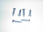 1971 Vent window pillar screw set