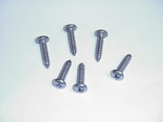 1957 Headlight bezel screws, Chevrolet or GMC