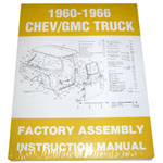 1966 Factory assembly manual, Chevrolet or GMC